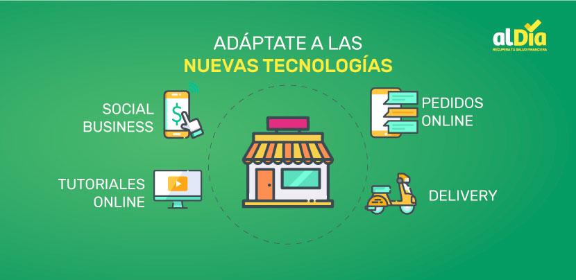 adaptate a las nuevas tecnologias