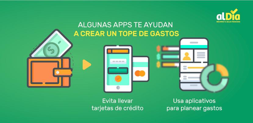 apps para crear un tope de gastos