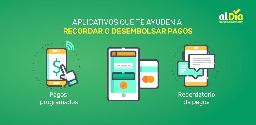 aplicativos para recordar desembolsar los pagos