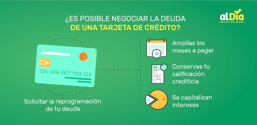 es posible negociar una tarjeta de crédito