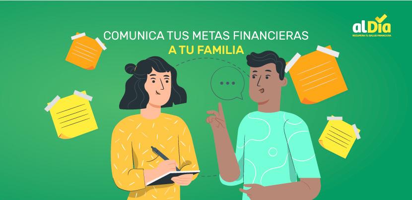 comunica tus metas financieras