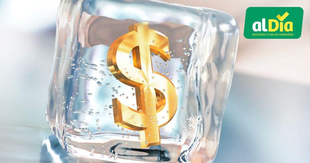 congelar deuda de tarjeta de crédito