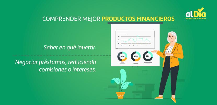 comprender mejor los productos financieros