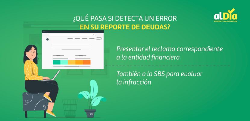 error en reporte de deudas