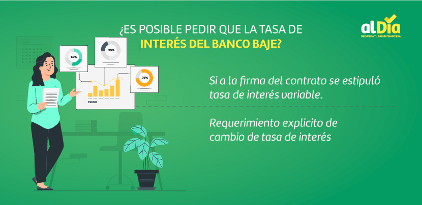 tasa de interés del banco