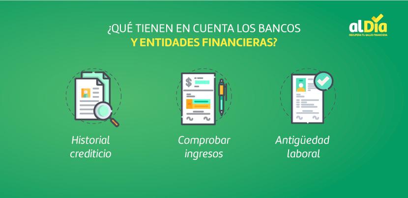 que tienen en cuenta los bancos
