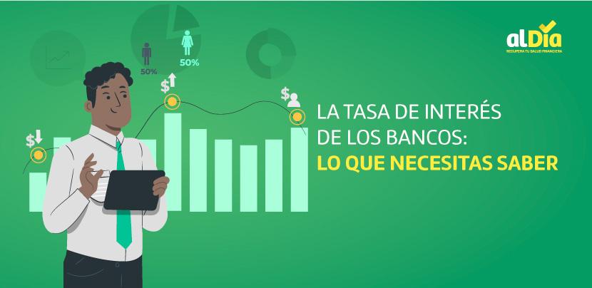 tasa de interés de los bancos