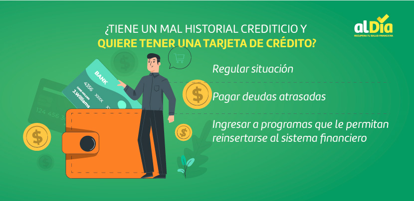 tener mál historial crediticio