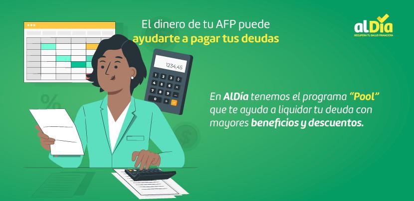 El dinero de tu AFP puede ayudarte a pagar tus deudas