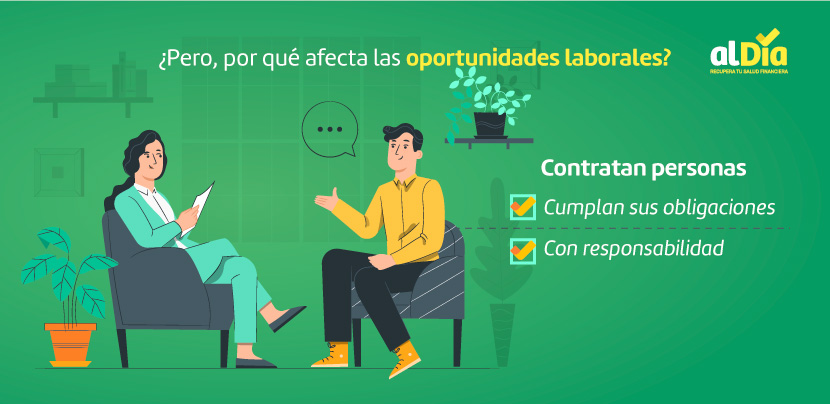 mala calificación crediticia afecta las oportunidades laborales
