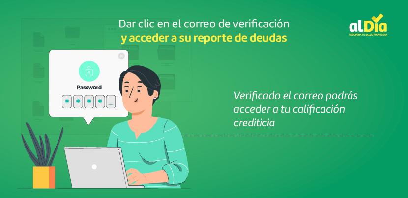 acceder a su reporte de deudas