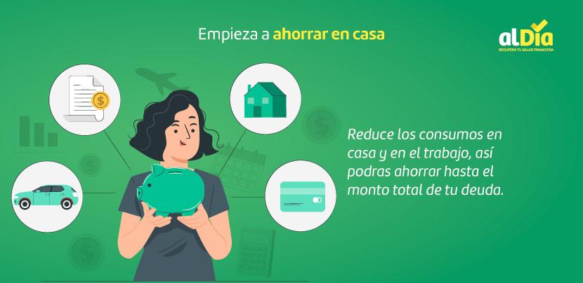 Empieza a ahorrar en casa