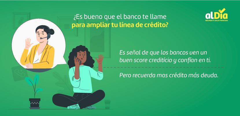 ampliar tu línea de crédito